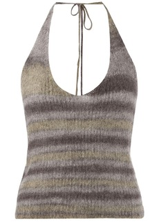 Jacquemus La Maille Tropea knitted top