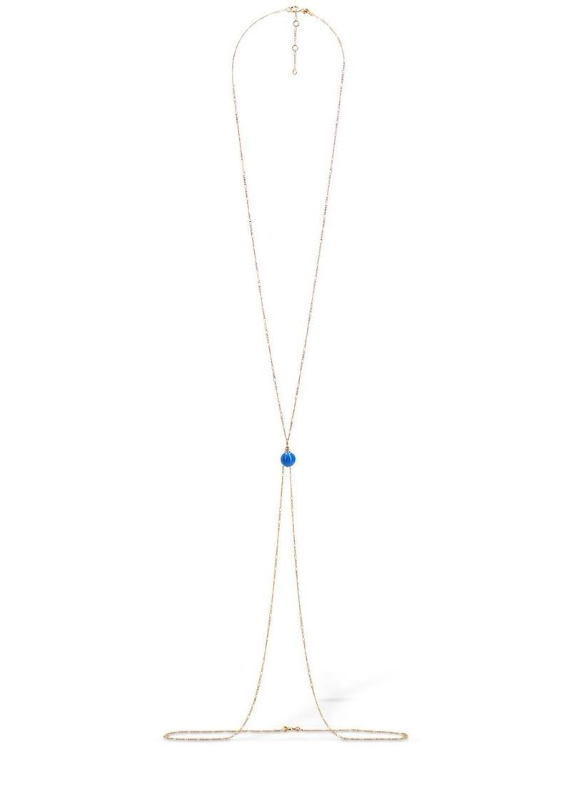 Jacquemus La Perle Bleue Body Chain