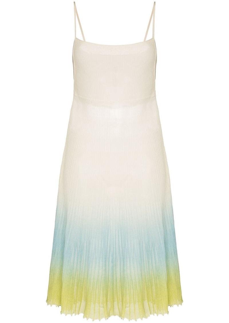 Jacquemus La robe Helado ombré effect dress