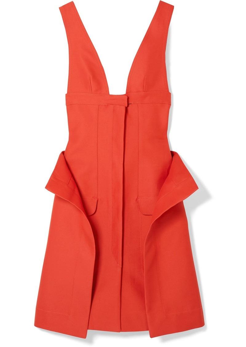 Jacquemus La Robe Lecci Draped Cotton-blend Dress