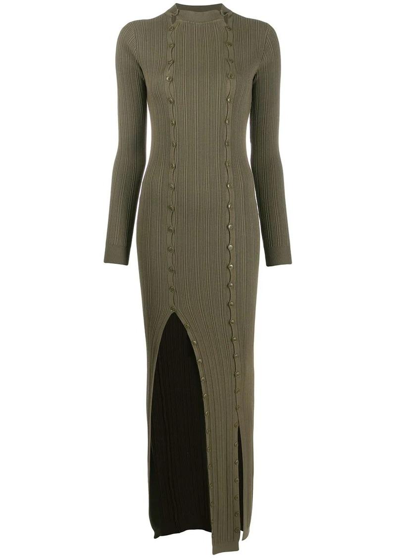 Jacquemus La Robe Maille Azur dress