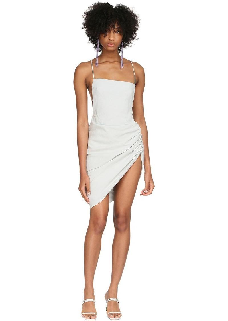 Jacquemus La Robe Saudade Canvas Mini Dress