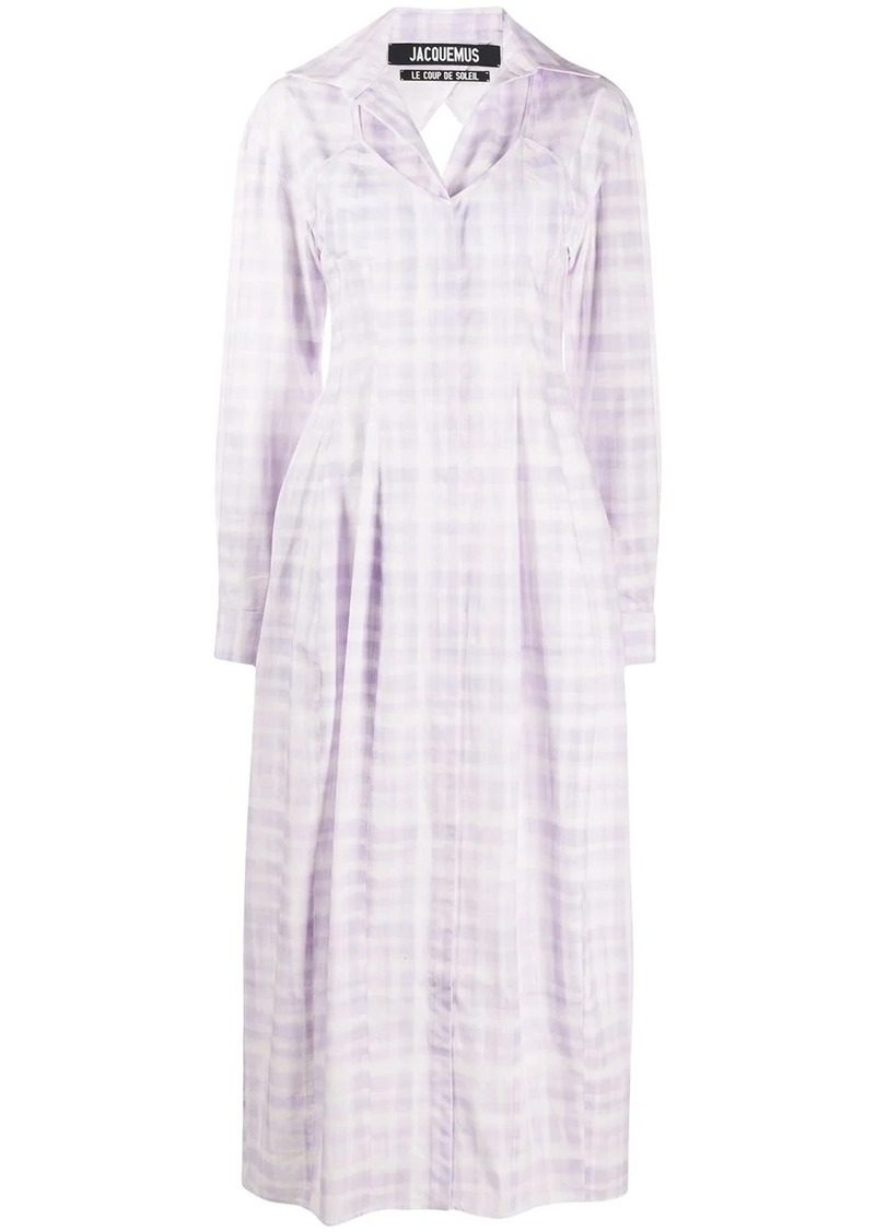 Jacquemus La Robe Valensole dress