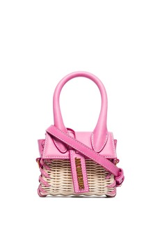 Jacquemus Le Chiquito wicker mini bag