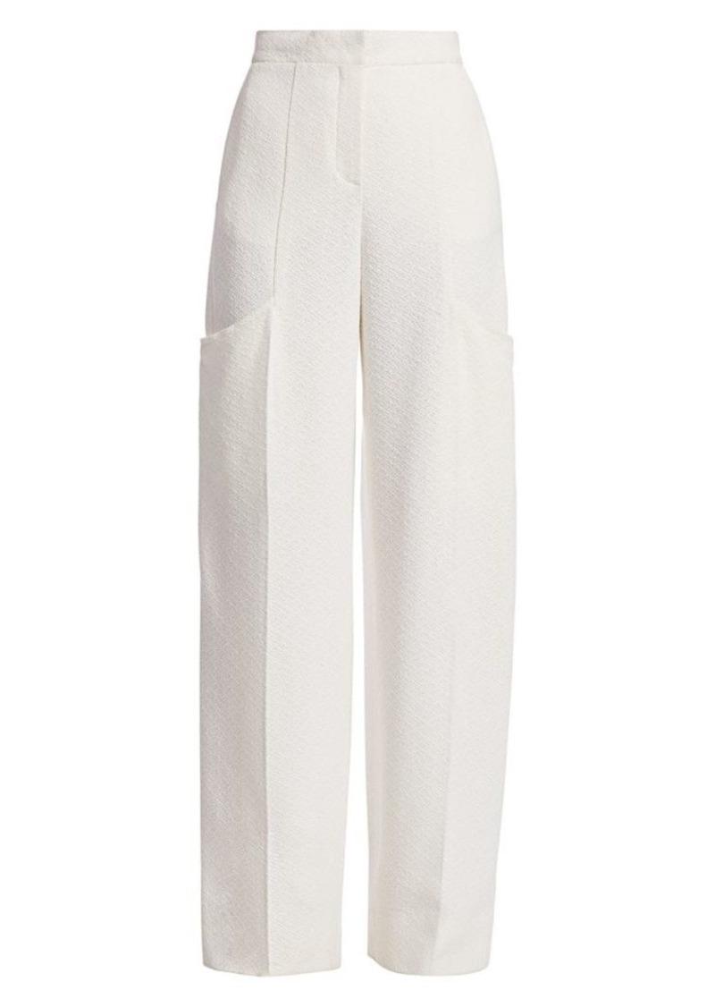 Jacquemus Le Pantalon Moyo High-Rise Trousers