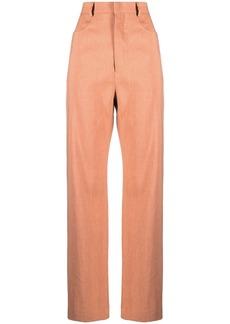 Jacquemus Le pantalon Sauge flared trousers
