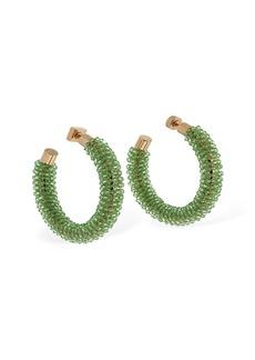 Jacquemus Les Creoles Brila Hoop Earrings