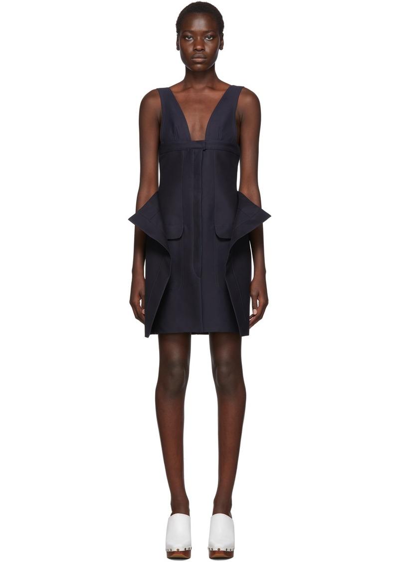 Jacquemus Navy 'La Robe Lecci' Dress
