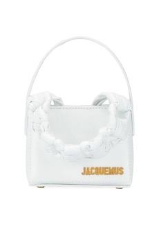 Jacquemus Noeud braided handle mini bag