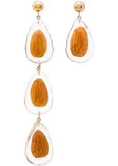 Jacquemus nut drop earrings