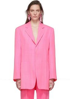 Jacquemus Pink 'La Veste D'Homme' Blazer