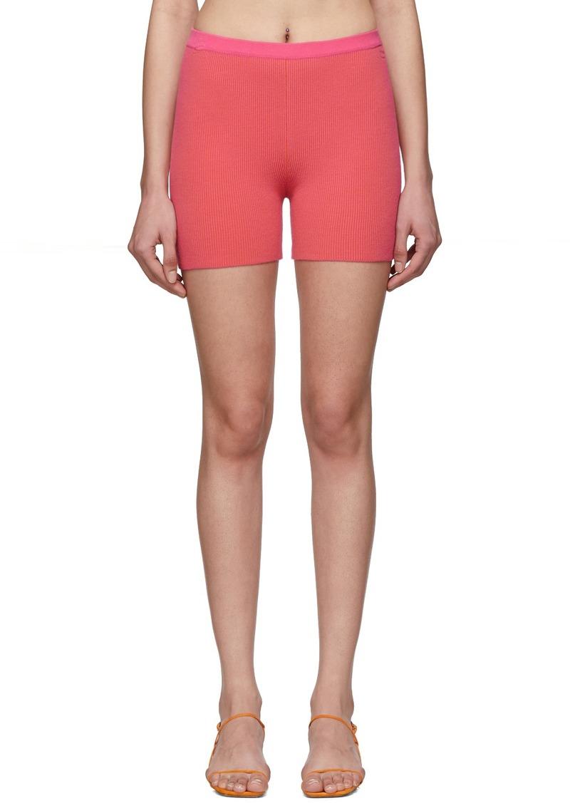 Jacquemus Pink 'Le Short Arancia' Shorts