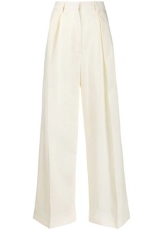 Jacquemus pleated details palazzo pants