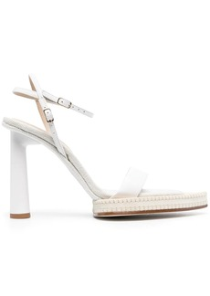 Jacquemus pointed-toe leather sandals