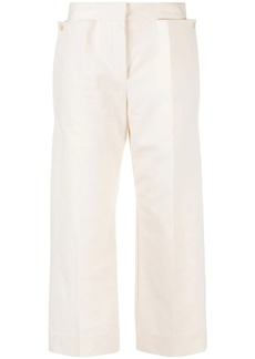 Jacquemus Santon cropped trousers