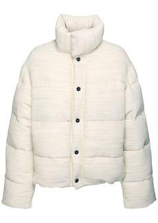 Jacquemus Cotton & Viscose Blend Puffer Jacket