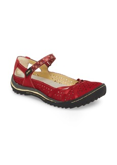 Jambu Cherry Blossom Mary Jane Flat (Women)