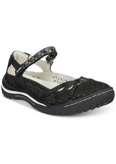 Jambu Cherry Blossom Mary Jane Flats Women's Shoes