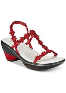 Jambu Cybill Floral Strap Sandals Women's Shoes