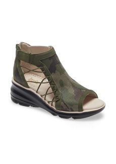 Jambu Naomi Perforated Wedge Sandal (Women)