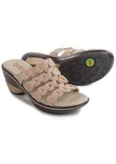 Jambu Romance Wedge Sandals - Leather (For Women)