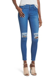 James Jeans Ankle Denim Leggings (Malibu Raw)
