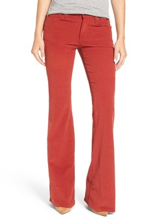 James Jeans 'Bella' Corduroy Flare Pants (Brick)