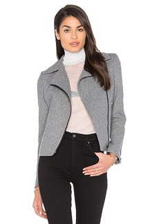 James Jeans Biker Jacket in Gray. - size S (also in M,XS)