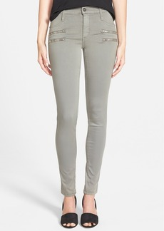 James Jeans Double Front Zip Leggings (Stonehenge)
