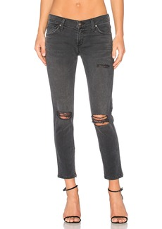 James Jeans Dylan Ankle Zip Boyfriend