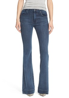 James Jeans Five-Pocket Flare Jeans (NYC Blue)