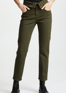 James Jeans Folie Twill Fold Over Jeans