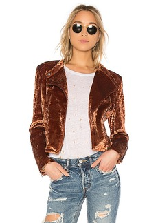 James Jeans Harley Jacket in Tan. - size L (also in M,S,XS)