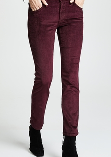James Jeans High Rise Ankle Straight Jeans