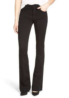 James Jeans High Rise Flare Jeans (Black Swan)