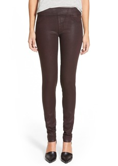 James Jeans Leggings (Red Glossed)