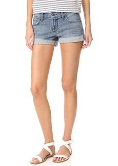 James Jeans Rolled Hem Baggy Boyfriend Shorts