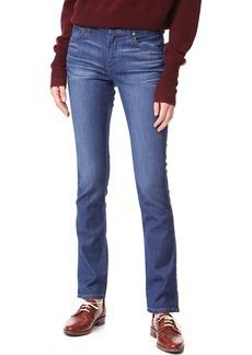 James Jeans Slim Pencil Mid Rise Cigarette Jeans