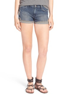 James Jeans Slouchy Denim Boy Shorts