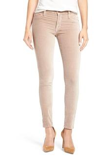 James Jeans 'Twiggy' Velveteen Skinny Pants (Chiffon Velveteen)