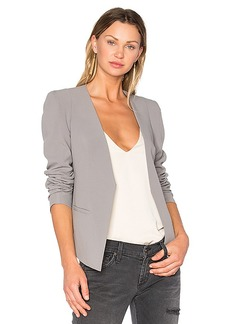 James Jeans V Boyfriend Blazer in Gray. - size L (also in S,XS)