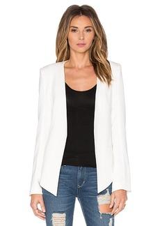 James Jeans V Boyfriend Blazer in White. - size S (also in M,XS)