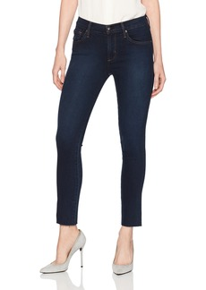 James Jeans Women's Ankle Ciggarette Jean in Smolder Blue