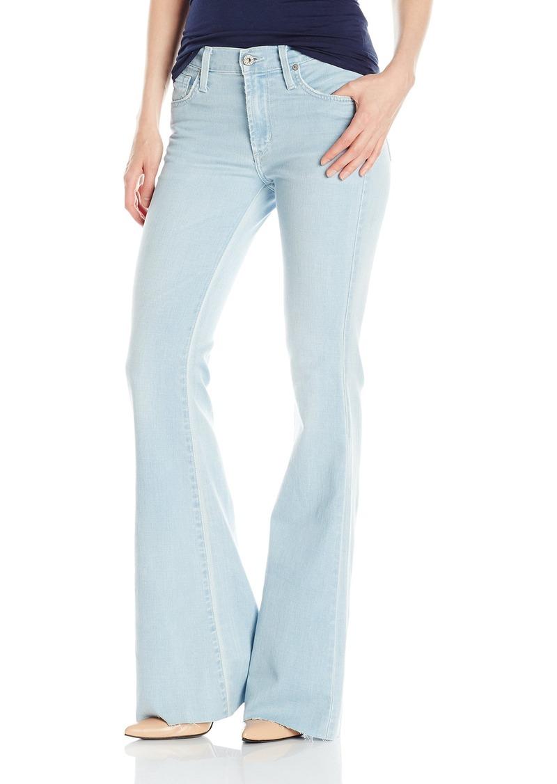 James Jeans Women's Bella Raw Hemmed Flare Jean