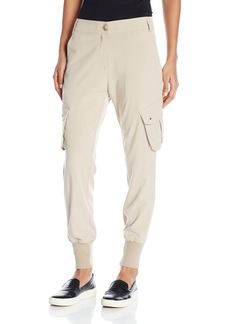 James Jeans Women's Boyfriend Slim Slouch Utility Cargo Pant In