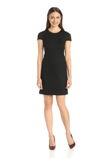 James Jeans Women's Cap-Sleeve Mini Dress
