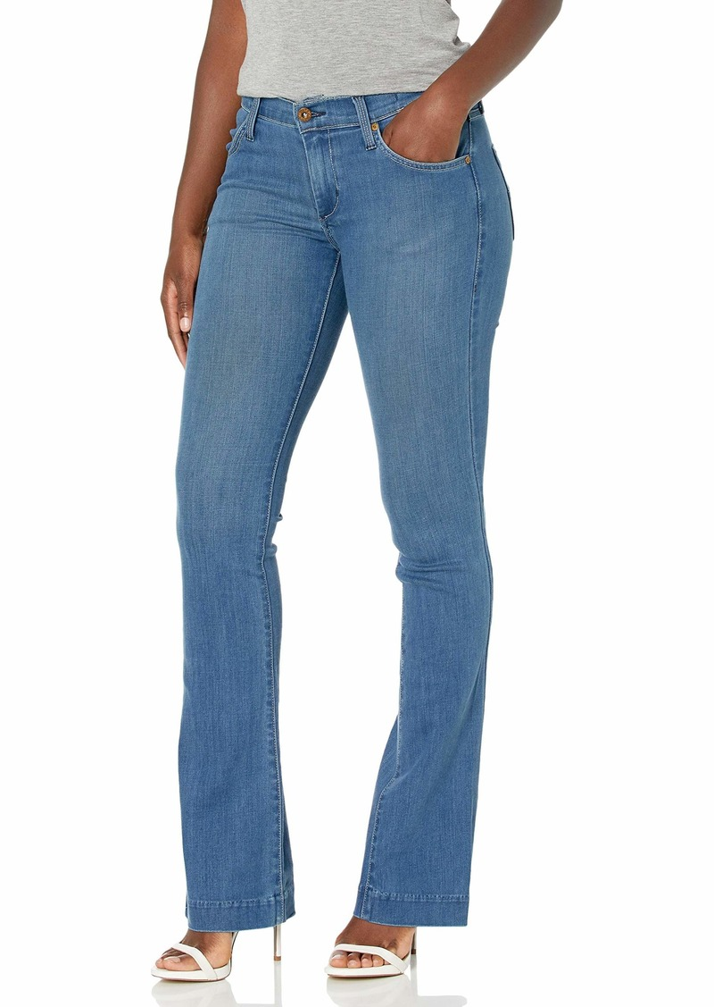 James Jeans Women's Classic Mid Rise Boot Leg in