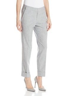 James Jeans Women's Cuffed Slouchy Leg Trouser