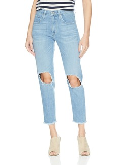James Jeans Women's Donna High Rise Mom Jean