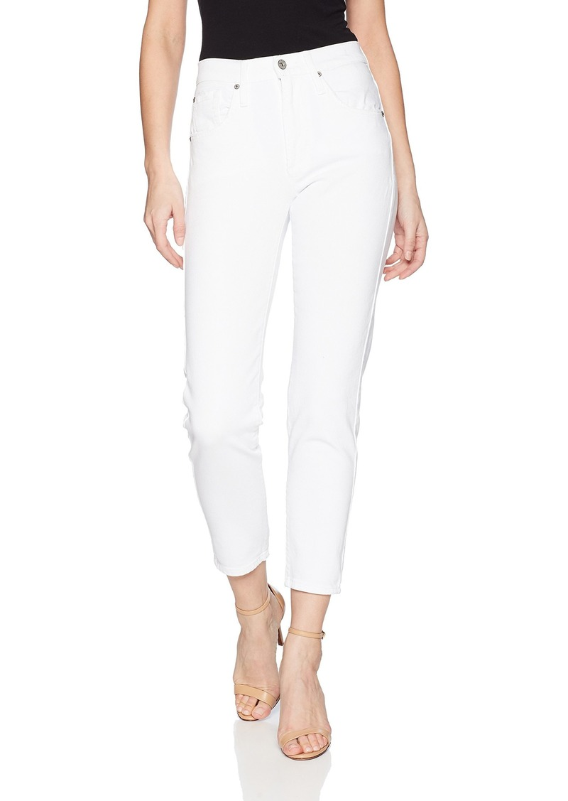 James Jeans Women's Donna High Rise Mom Jean in